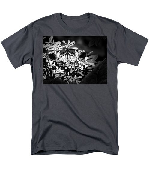 Men's T-Shirt  (Regular Fit) featuring the photograph Piano Key 4 by Penny Lisowski