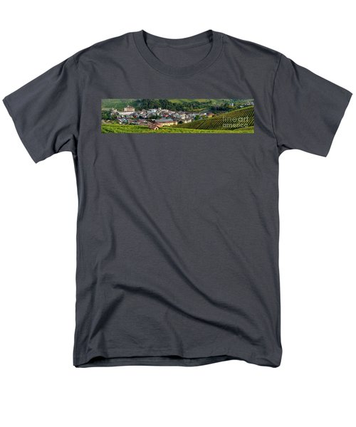 Men's T-Shirt  (Regular Fit) featuring the photograph Piemonte Panoramic by Brian Jannsen