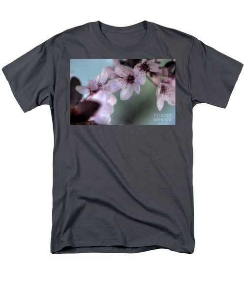 Men's T-Shirt  (Regular Fit) featuring the photograph Pink Blossoms by Jim and Emily Bush
