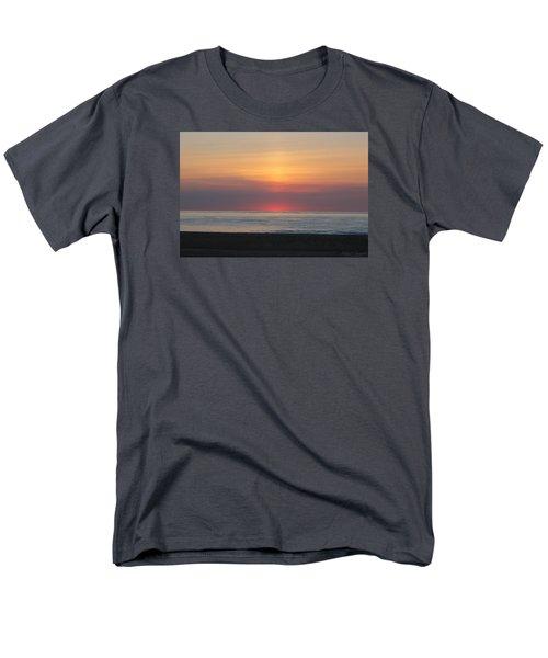 Men's T-Shirt  (Regular Fit) featuring the photograph Pink Dawn by Robert Banach