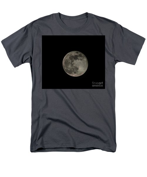 Men's T-Shirt  (Regular Fit) featuring the photograph Pink Moon by David Bearden