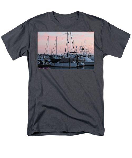 Pink Skies Men's T-Shirt  (Regular Fit) by Nance Larson