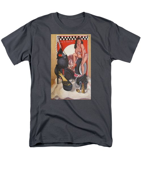 Men's T-Shirt  (Regular Fit) featuring the painting Pinup #1 by Donelli  DiMaria