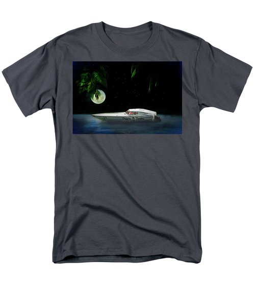 Men's T-Shirt  (Regular Fit) featuring the painting Pirate Racing by Michael Cleere