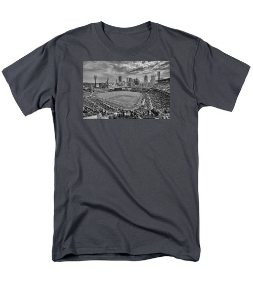 Pittsburgh Pirates Pnc Park Bw X1 Men's T-Shirt  (Regular Fit) by David Haskett