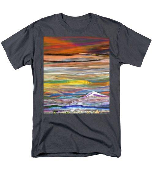 Pittura Digital Ghibli1128 Men's T-Shirt  (Regular Fit) by Sheila Mcdonald