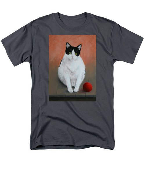 Pj And The Ball Men's T-Shirt  (Regular Fit) by Marna Edwards Flavell