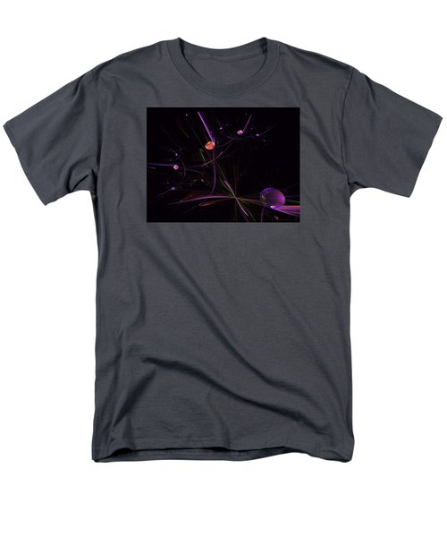 Planets And Space Energies Men's T-Shirt  (Regular Fit) by Ernst Dittmar
