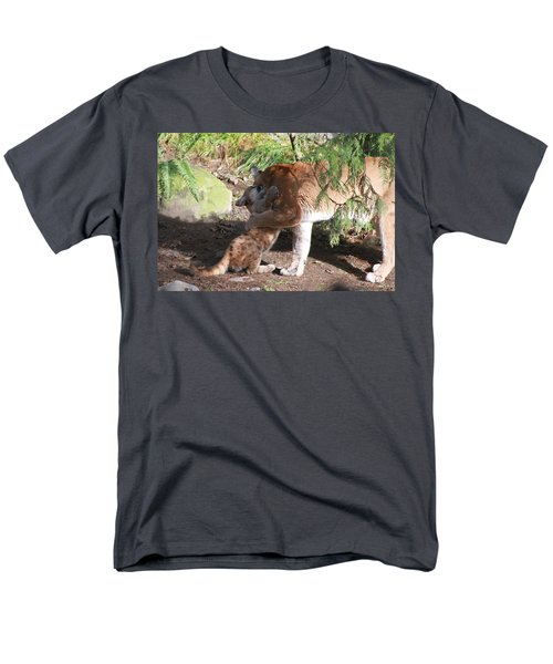 Men's T-Shirt  (Regular Fit) featuring the photograph Playful Hugs by Laddie Halupa