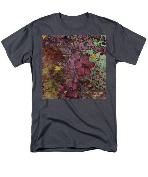 Men's T-Shirt  (Regular Fit) featuring the photograph Plum Blossom by LemonArt Photography