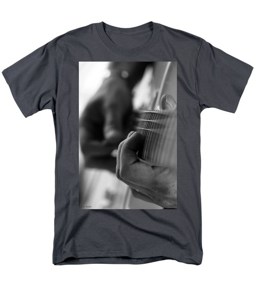 Poetry Of Sound Men's T-Shirt  (Regular Fit) by Lauren Radke