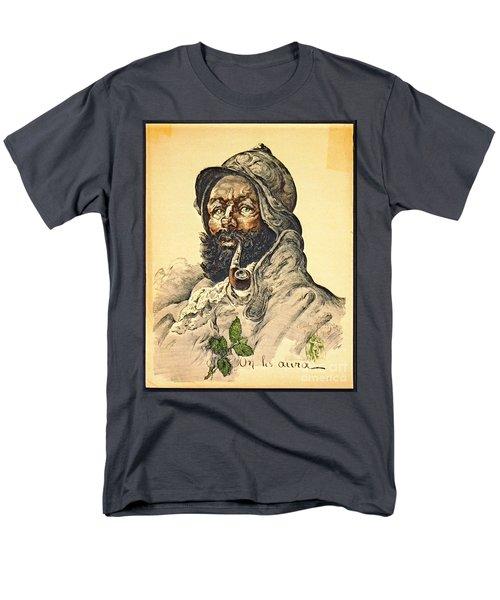 Poilu 1916 Men's T-Shirt  (Regular Fit) by Padre Art