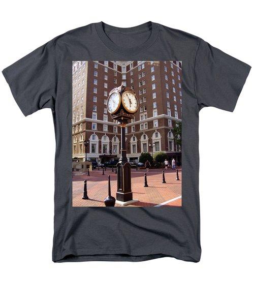 Poinsett Hotel Greeenville Sc Men's T-Shirt  (Regular Fit) by Flavia Westerwelle