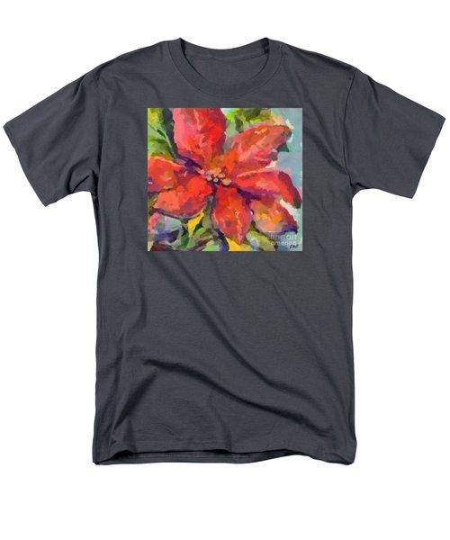 Poinsettia Men's T-Shirt  (Regular Fit)