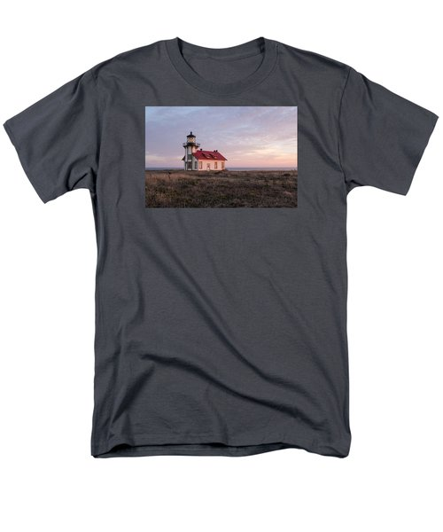Point Cabrillo Light House Men's T-Shirt  (Regular Fit) by Catherine Lau