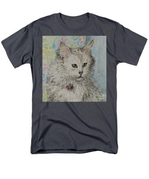 Poised Cat Men's T-Shirt  (Regular Fit) by Kim Tran