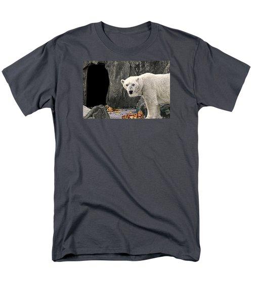 Polar Bear 101 Men's T-Shirt  (Regular Fit) by Diana Angstadt