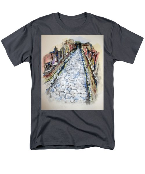 Pompeii Road Men's T-Shirt  (Regular Fit) by Clyde J Kell