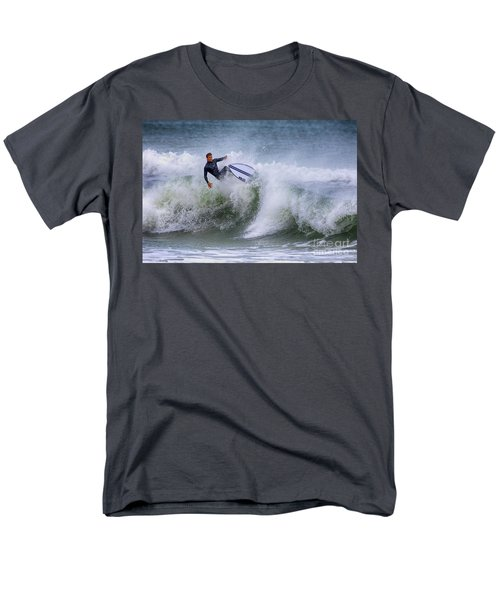 Men's T-Shirt  (Regular Fit) featuring the photograph Ponce Surf 2017 by Deborah Benoit