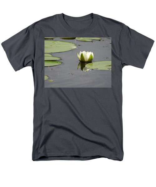 Men's T-Shirt  (Regular Fit) featuring the photograph Pond Beauty by Betty-Anne McDonald