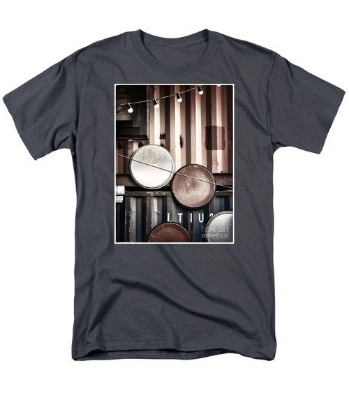 Pop Brixton - Industrial Style Men's T-Shirt  (Regular Fit) by Lenny Carter