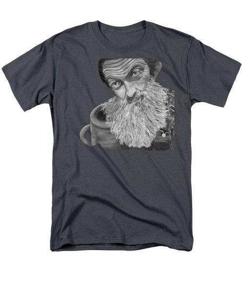 Popcorn Sutton Black And White Transparent - T-shirts Men's T-Shirt  (Regular Fit)