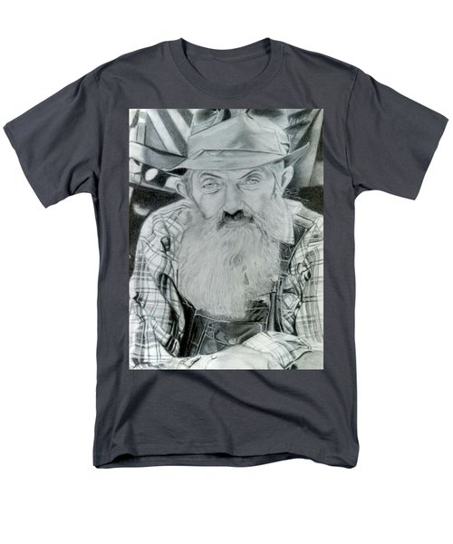 Popcorn Sutton Men's T-Shirt  (Regular Fit) by Brandon Treadaway