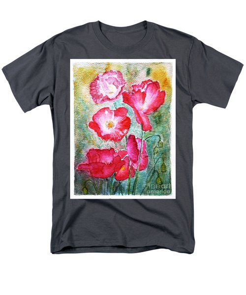 Poppies Men's T-Shirt  (Regular Fit) by Jasna Dragun