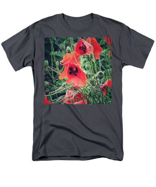Poppies Men's T-Shirt  (Regular Fit) by Karen Stahlros