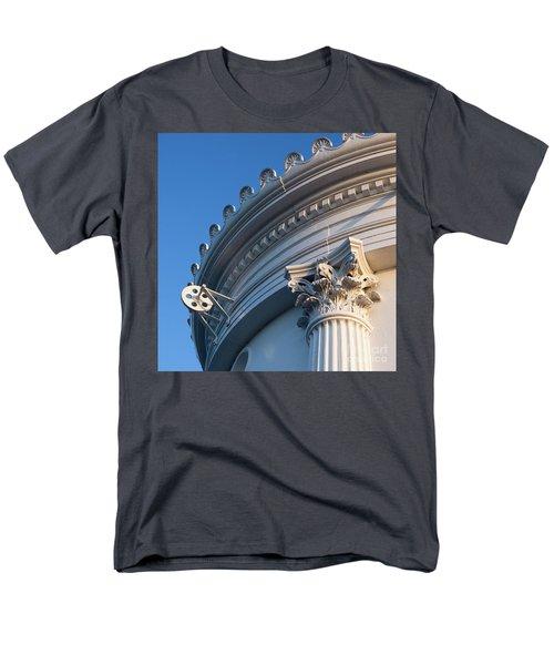 Men's T-Shirt  (Regular Fit) featuring the photograph Portland Breakwater Light  -58750 by John Bald