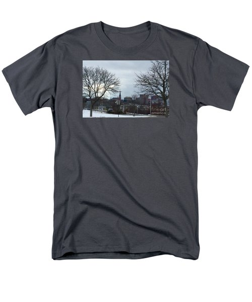 Portland, Maine, My City By The Bay Men's T-Shirt  (Regular Fit) by Patricia E Sundik