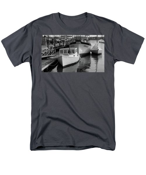 Men's T-Shirt  (Regular Fit) featuring the photograph Portland, Maine  by Trace Kittrell