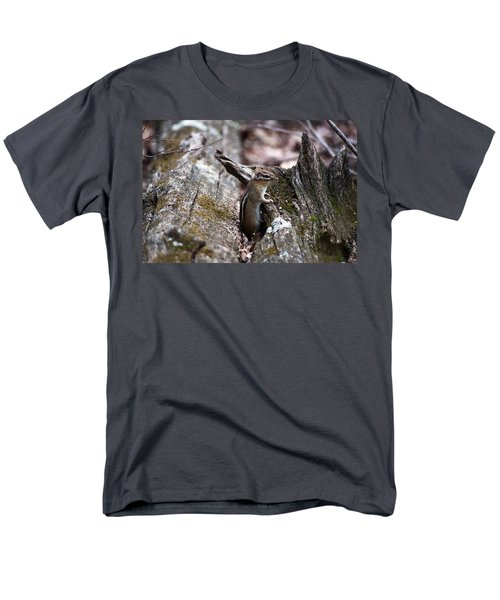 Men's T-Shirt  (Regular Fit) featuring the photograph Posing #2 by Jeff Severson