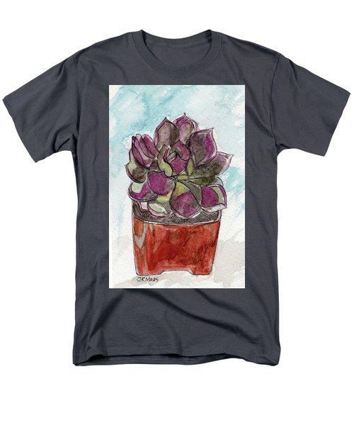 Potted Cactus Men's T-Shirt  (Regular Fit)