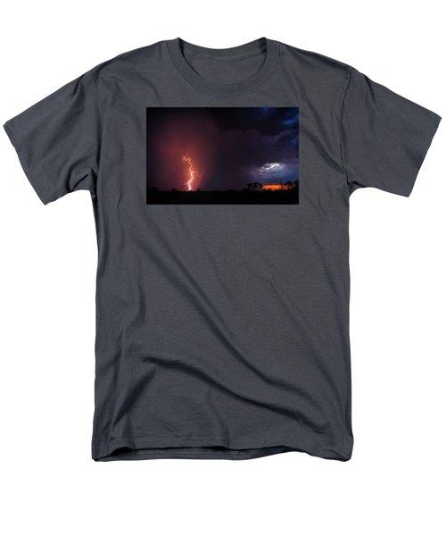 Pow Wow Dancer Men's T-Shirt  (Regular Fit) by Rick Furmanek