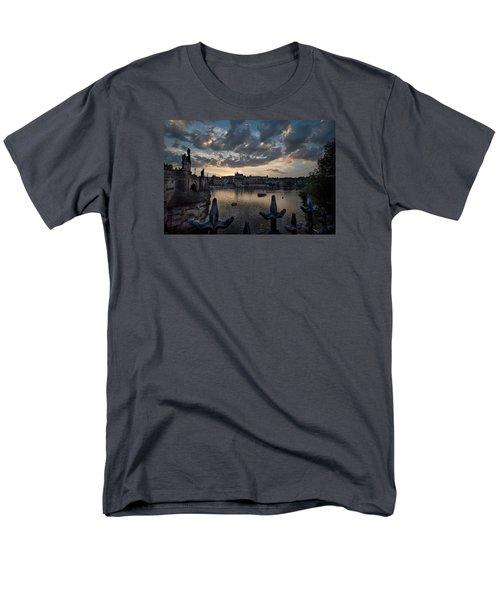 Prague Castle Men's T-Shirt  (Regular Fit) by James David Phenicie