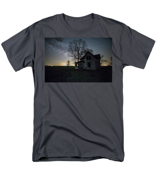 Prairie Gold And Milky Way Men's T-Shirt  (Regular Fit) by Aaron J Groen