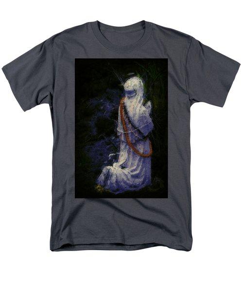Praying Men's T-Shirt  (Regular Fit) by Lori Seaman