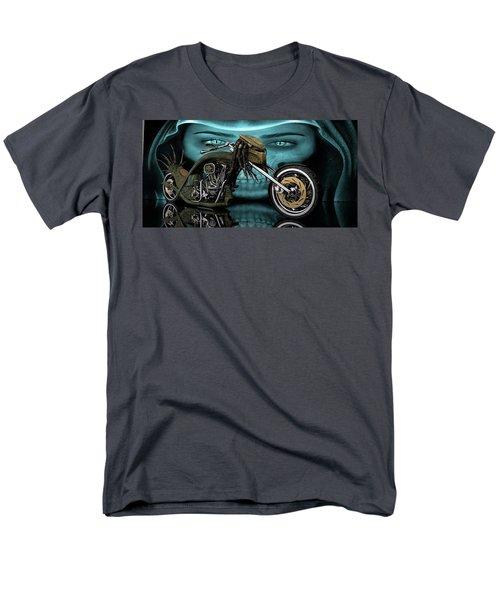 Men's T-Shirt  (Regular Fit) featuring the digital art Predator Chopper by Louis Ferreira