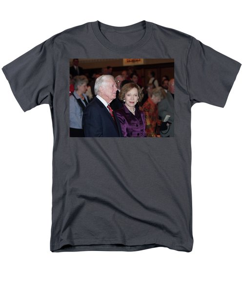 President And Mrs. Jimmy Carter Nobel Celebration Men's T-Shirt  (Regular Fit) by Jerry Battle