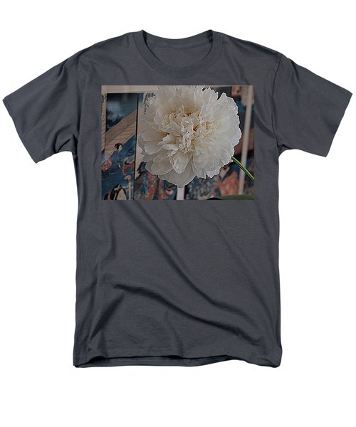 Men's T-Shirt  (Regular Fit) featuring the photograph Pretty As A Print by Nancy Kane Chapman