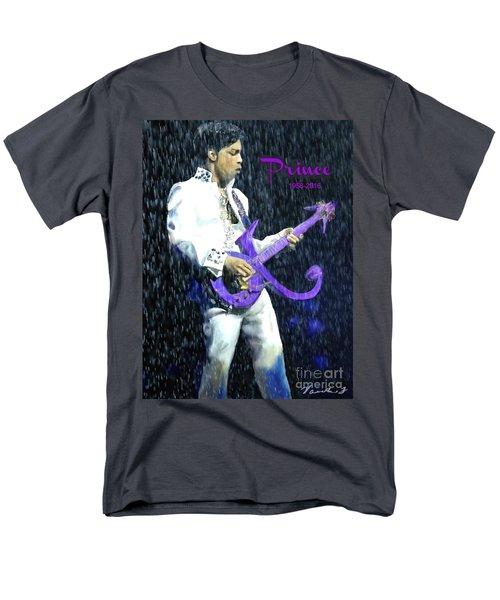 Prince 1958 - 2016 Men's T-Shirt  (Regular Fit) by Vannetta Ferguson