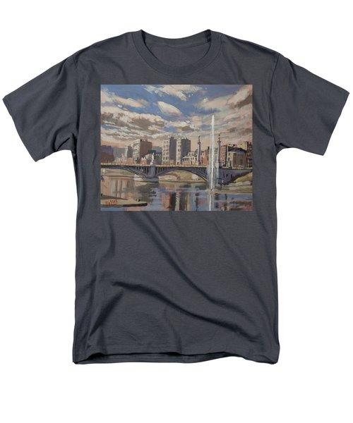 Printemps Sur Le Pont Fragnee Liege Men's T-Shirt  (Regular Fit) by Nop Briex