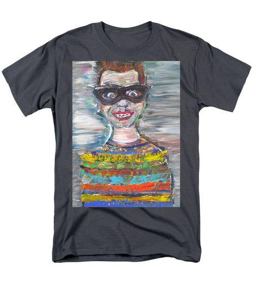 Men's T-Shirt  (Regular Fit) featuring the painting Probably Reincarnated by Fabrizio Cassetta