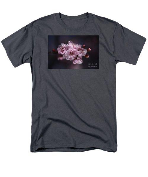 Prunus A Pink Spring Men's T-Shirt  (Regular Fit) by Joy Watson