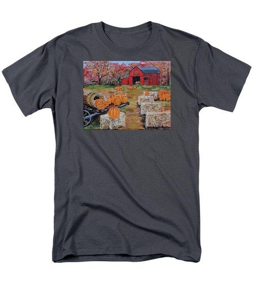 Pumpkin Time Men's T-Shirt  (Regular Fit) by Mike Caitham