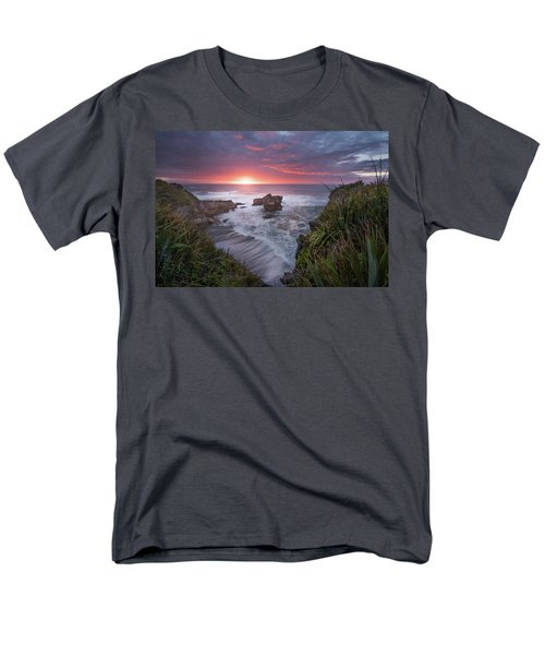 Punakaiki Men's T-Shirt  (Regular Fit) by Racheal Christian