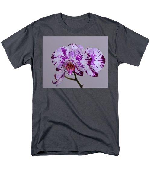 Purple Moth Orchid Men's T-Shirt  (Regular Fit) by Kathy Eickenberg