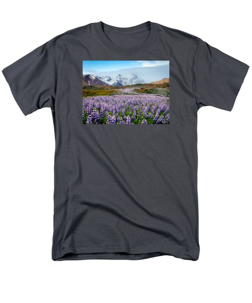 Purple Pathway Men's T-Shirt  (Regular Fit) by William Beuther