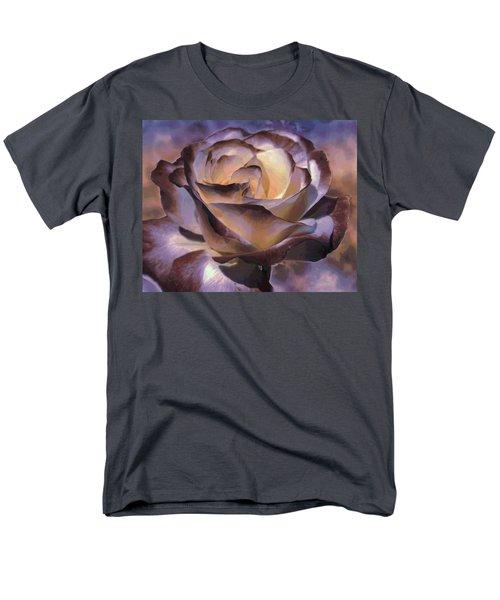 Purple Rose Men's T-Shirt  (Regular Fit) by Athala Carole Bruckner